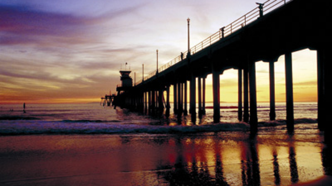 Huntington Beach Pier - Huntington Beach California