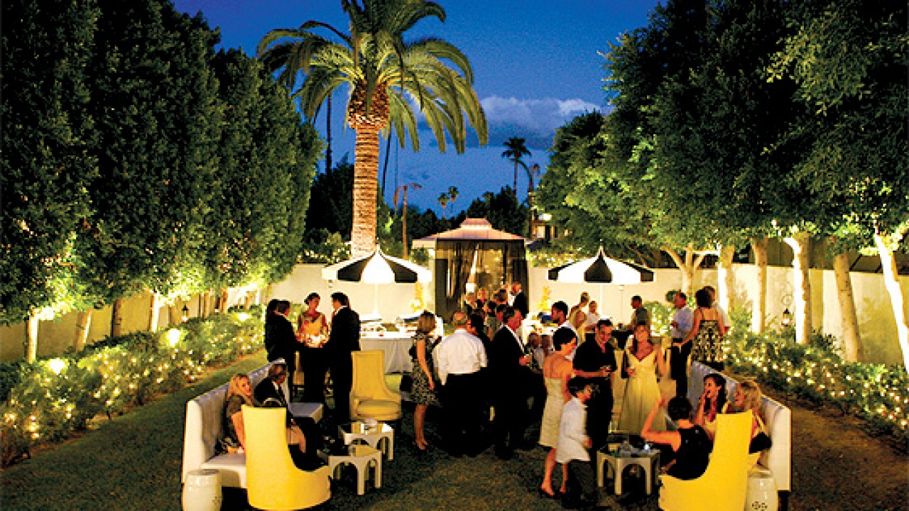 Palm springs weddings event locations venues in palm springs modern weddings are a common sight at viceroy palm springs tucked on a side street behind junglespirit Images