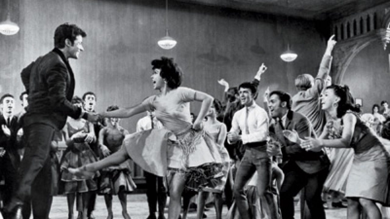 George Chakiris with Rita Moreno in West Side Story.