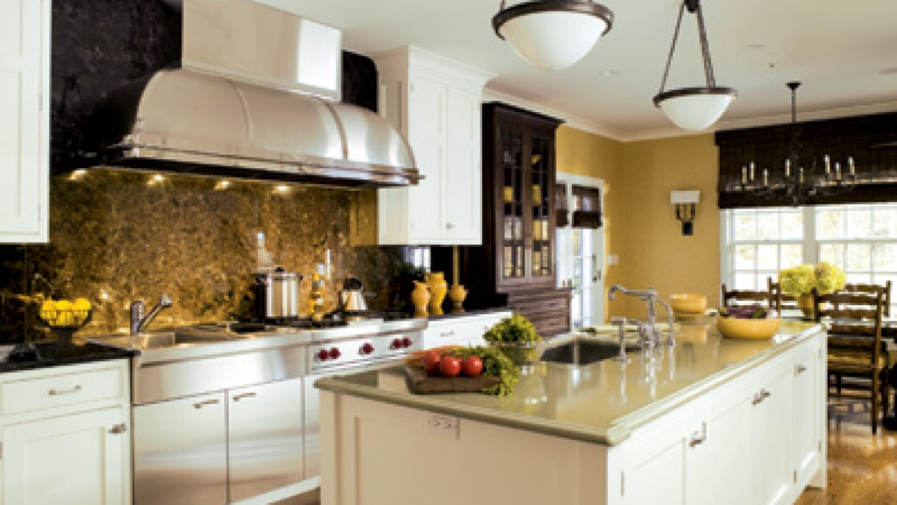 fresh kitchens - new finishes and efficient designs signal a