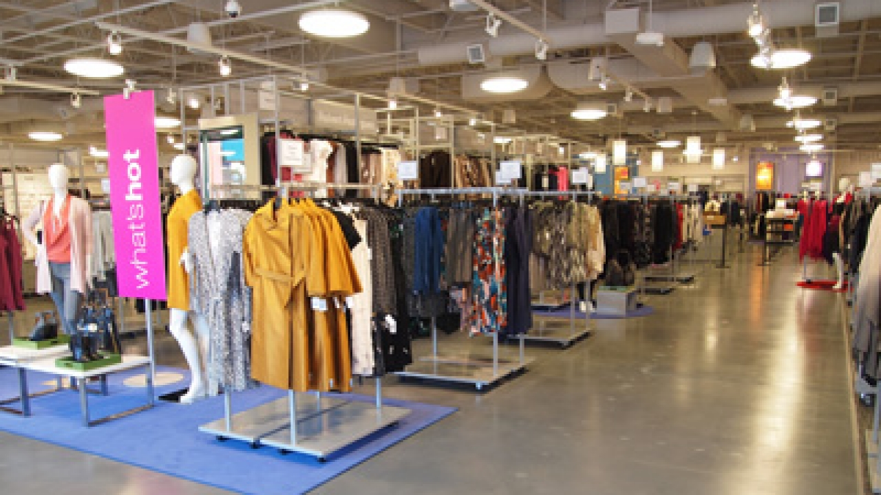 LastCallInterior: Interior of the new Last Call by Neiman Marcus store.