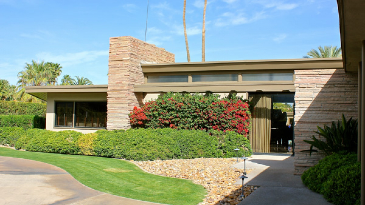 Twin Palms Frank Sinatra View Icon 39 S 1st Palm Springs Home