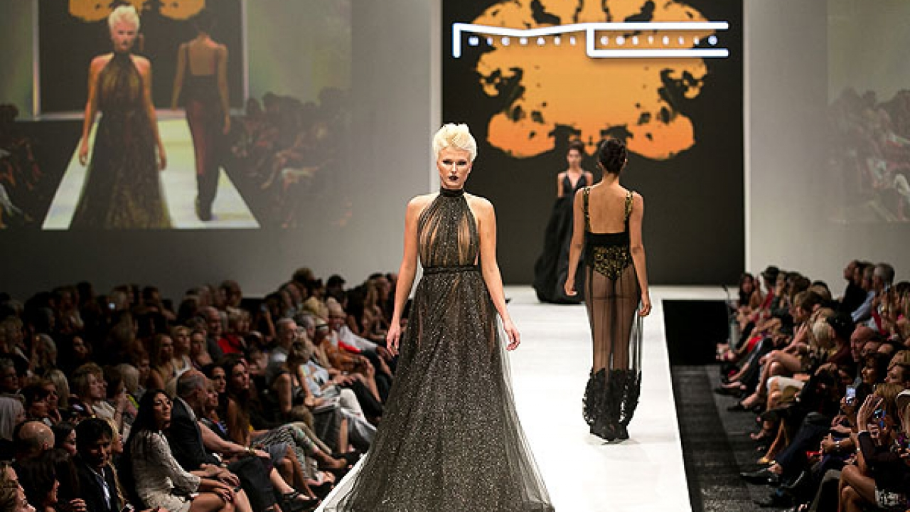 American Couture Fashion Designer Michael Costello Was Born With Talent The Father Of Two