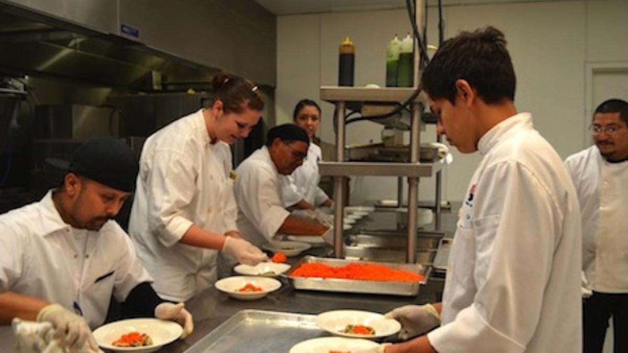 La Quinta High School Chefs Create 'MaJic' at Miramonte Resort