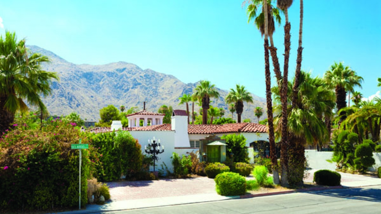 """For almost a century, the desert's magical allure has seduced Hollywood celebrities and business titans looking for the perfect getaway to call """"home"""""""