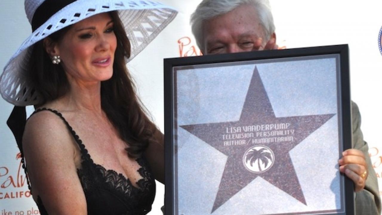 Lisa Vanderpump's 'Star Dream' in Palm Springs Comes True