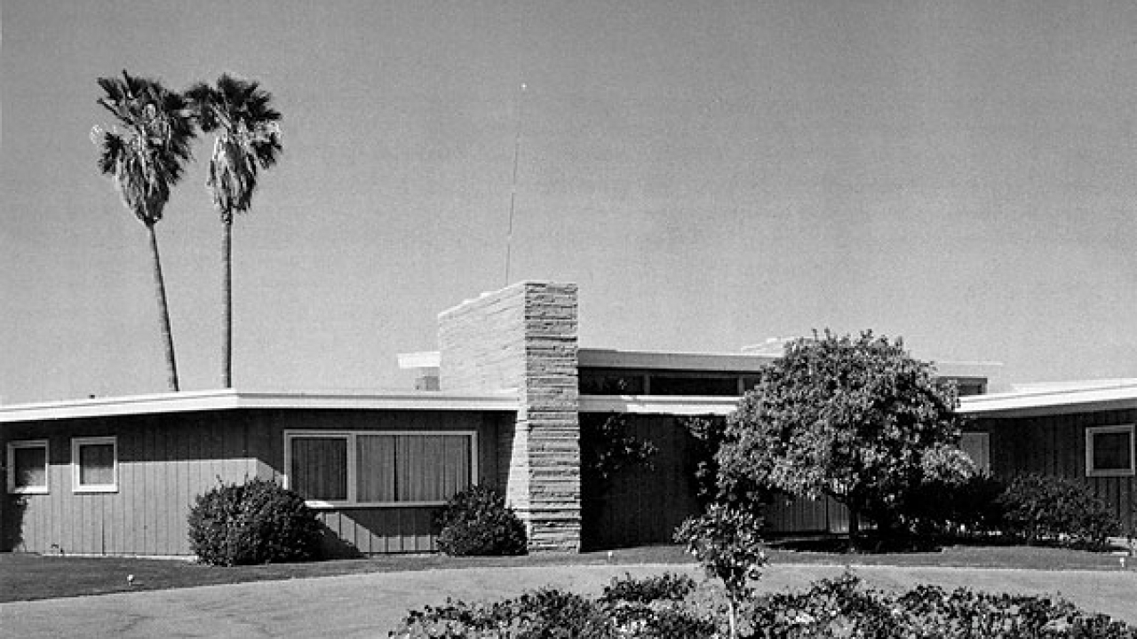 Palm Springs Midcentury Modern Architecture E Stewart