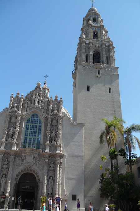 Palm Springs architecture San Diegos Balboa Park Contains