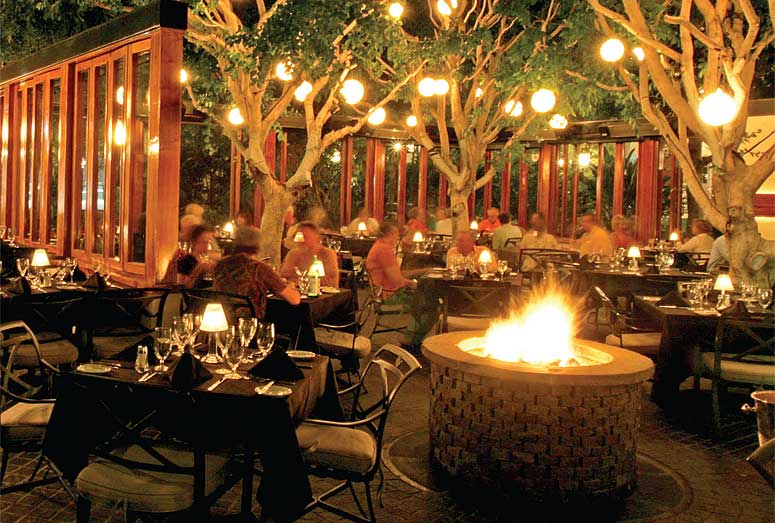 Palm Springs Restaurants Ambiance