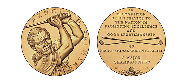 Arnold Palmer Congressional Gold Medal