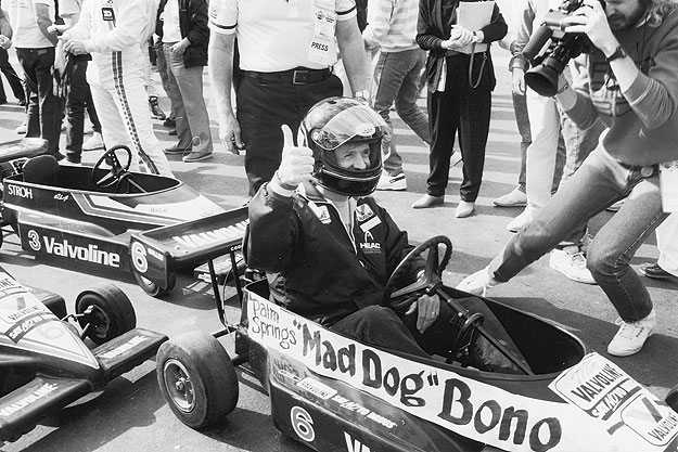 Mayor Sonny Bono at the Palm Springs Vintage Grand Prix
