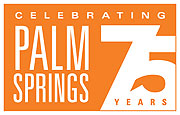 Palm Springs' 75th Anniversary logo