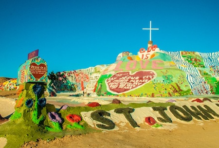 Salvation Mountain Palm Springs road trips