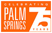 Palm Springs 75th Anniversary logo
