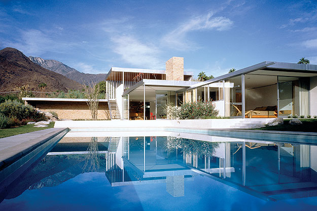 Historic palm springs modernism architecture marmol for New modern homes palm springs