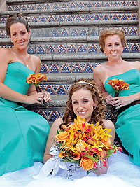 Palm Springs Weddings - Colors - Turquoise