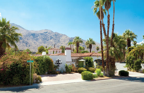 Palm Springs Celebrity Homes Palm Springs California