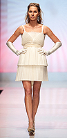 "ASID Project Runway - ""Honeycomb Blond Party Dress"""