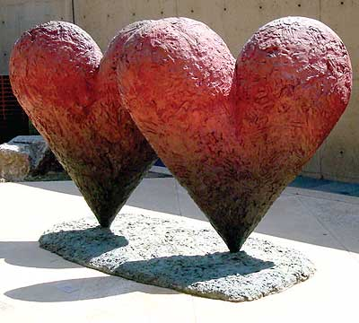 Palm Springs Art Museum - Twin 6' Hearts