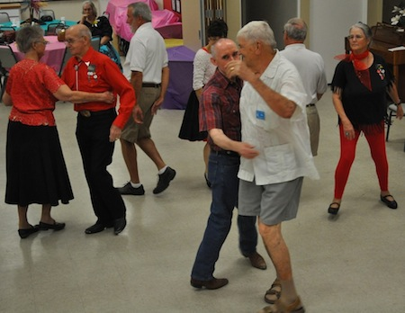 Palm springs gay square dancine