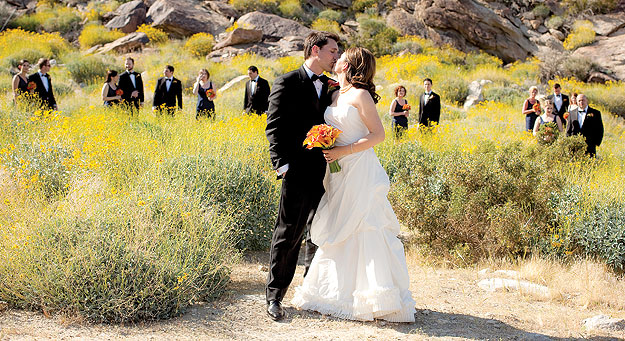 Palm Springs Weddings Tahquitz Canyon