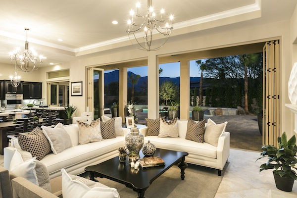 Griffin ranch la quinta takes indoor outdoor living for Open concept ranch homes